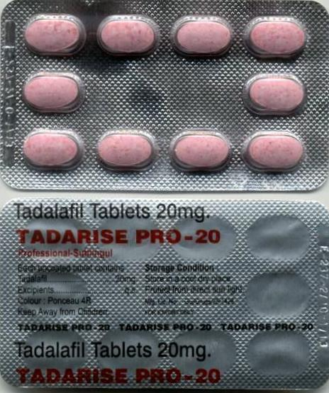 Buy Tadarise Professional 20mg