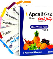 Apcalis SX Oral Jelly 7 Assorted Flavours From Ajanta